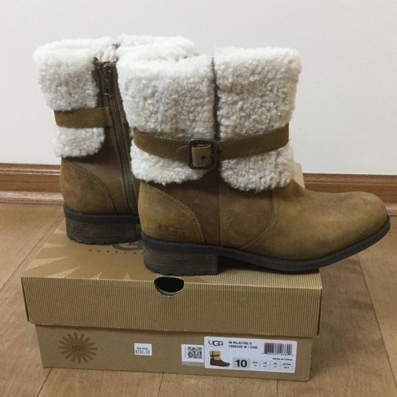 ef35bfb3788 Like NEW!!! UGG Blayre II Chestnut boots, Sz 10